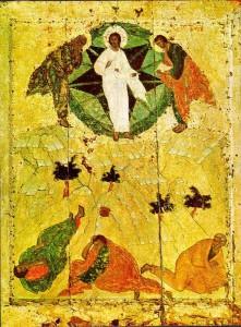 Rublev - transfiguration