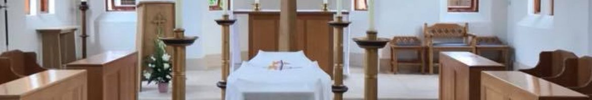 Sr Mary Michael - In the Chapel before the Funeral Requiem - crp